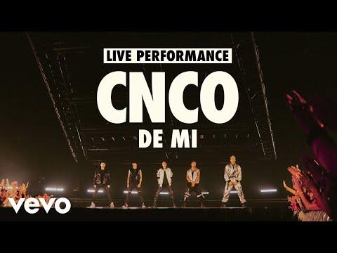 CNCO - De Mi (Live) | Vevo LIFT Live Sessions