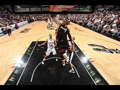 Top 5 Plays of the Night: Heat at Spurs Game 4