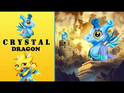 How To Breed Crystal Dragon In Dragon City 2017 | Get Crystal Dragon By Breeding Easy 2017