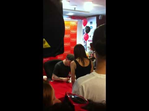 Corey Taylor Book Signing In Sydney