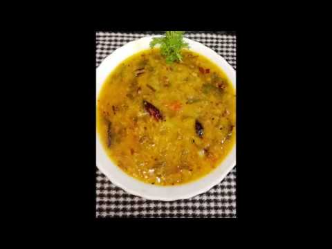 moong dal with spring onion