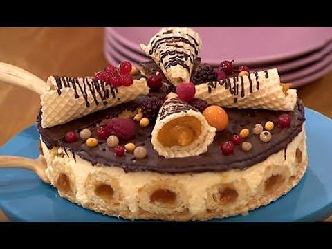 Вафельный торт для праздничного стола от Екатерины Великой! – Все буде добре. Выпуск 927 от 7.12.16
