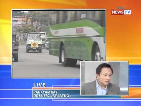 News to Go - Howie Severino interviews DOE USec. Jose Layug, Jr. on oil price hikes 4/28/11