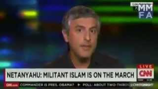 CNN journalist lose the debate against muslim prof