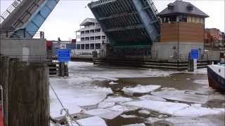 Breaking Ice on Port Huron's Black River