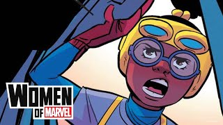 Which Student Athletes Play Like Super Heroes? | Women of Marvel