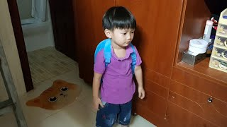 Ngày Đầu Tiên Đi Học ❤ First day in kindergarten ❤ Tin Siêu Còi ❤