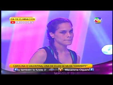 COMBATE Carolina es Eliminada y Humillada por Combatientes 03/10/13