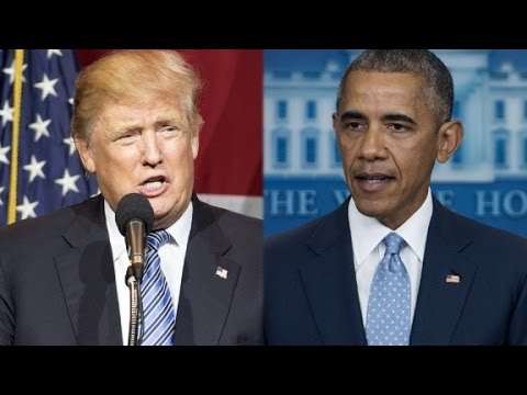 Obama pushes back against Donald Trump's speech