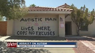Mom posts signs to protect son with autism