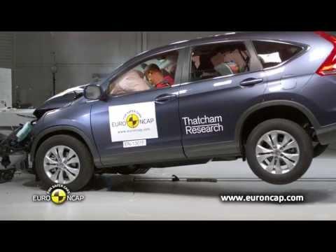 Euro NCAP | Honda CR-V | 2013 | Краш-тест