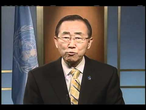 Ban Ki-moon's message for Earth Hour 2012