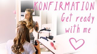 Get Ready With Me - Konfirmation // VLOG 💖