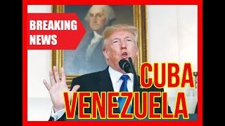 BREAKING 🔴 Trump Administration EXPLOSIVE Speech on Cuba in Florida