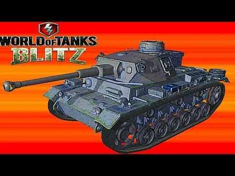 WoT Blitz обзор PZ 34 средний немецкий танк новичкам немецкая ветка World of Tanks Blitz#70