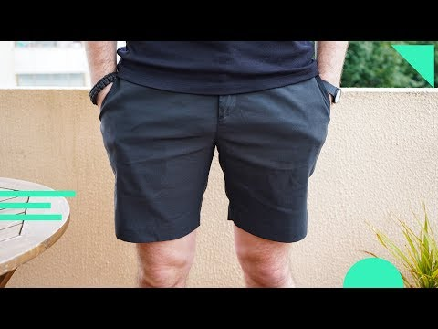 What's a good pair of shorts for travel? New Way Shorts by Outlier review