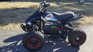Electric ATV With Reverse Review 350 Watt And 500 Watt And How To Get On Sale