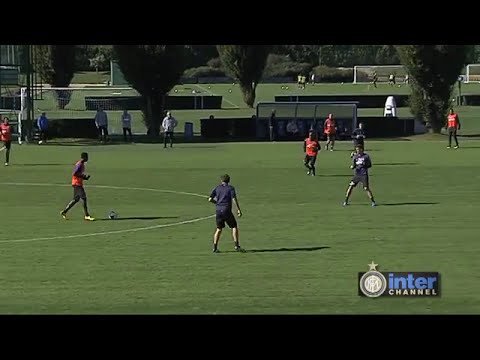 ALLENAMENTO INTER REAL AUDIO 11 10 2013