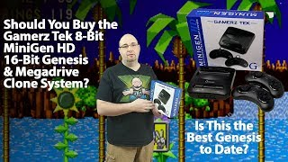 Should You Buy the Gamerz Tek Mini Gen HD Sega Genesis and MegaDrive HDMI Clone System?