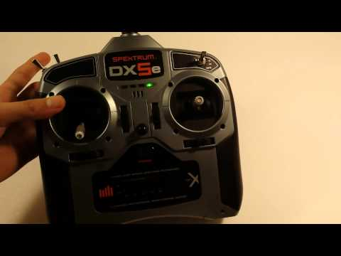 Spektrum dx5e review and how to bind