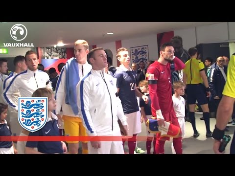England v France (Exclusive) Tunnel Cam | Inside Access