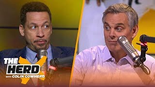 Chris Broussard on KD-Kyrie possibly joining Knicks or Nets, talks Game 4 of NBA Finals | THE HERD