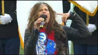 Steven Tyler sings National Anthem (HD)