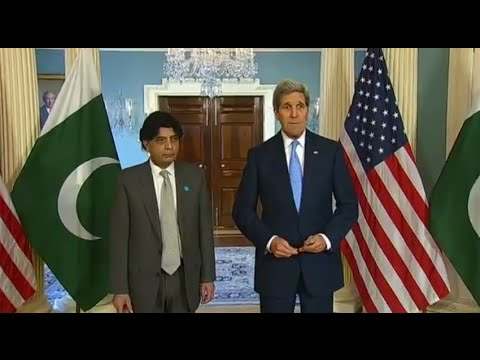Secretary Kerry Delivers Remarks With Pakistani Minister of the Interior Khan