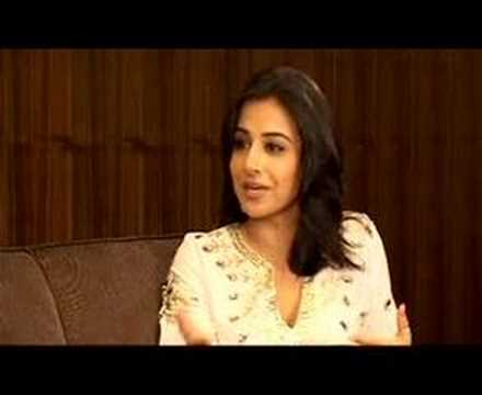 Lets talk with Vidya Balan Part 1 Video