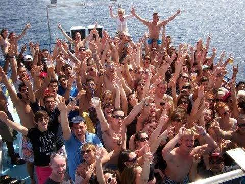 FANTASY BOAT PARTY AYIA NAPA CYPRUS SATURDAY 6TH APRIL 2013