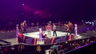 Shinsuke Nakamura, AJ Styles and Randy Orton vs. Dolph Ziggler, Erick Rowan and Jinder Mahal