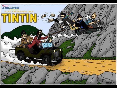 Hewy's Animated Movie Reviews #49 The Adventures of Tintin