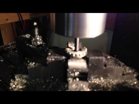 Making a Home Made Silencer Part 3: Threadmilling
