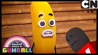 Gumball | News of Elmore | The News | Cartoon Network