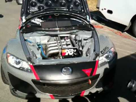 Mazda Rx8 4 Rotors Youtube