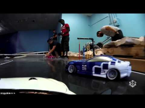RC DRIFT: DARC Drift America Rc Grand Opening:  Nissan Team Drifting