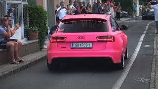 LOUDEST AUDI RS6 EVER! - Crazy Revs & Accelerations