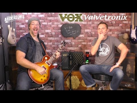 VOX VTX Amps - A New Generation of affordable Vox Modelling Amps