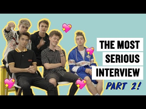 Download Lagu  The Most Serious Interview with Why Don't We: Part 2 Mp3 Free