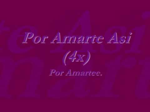 Ana Isabelle Con Cristian Castro - Por Amarte Asi Con Letra