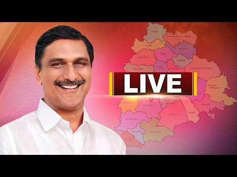 Minister Harish Rao Participates in Public meeting at Gurralagondi | LIVE