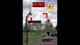 Outdoor Basketball Trickshots! Better Than Dude Perfect?! | No Theory