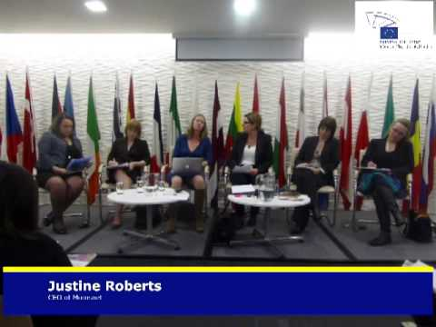 debate on what has the EU done for gender equality - Justine Roberts