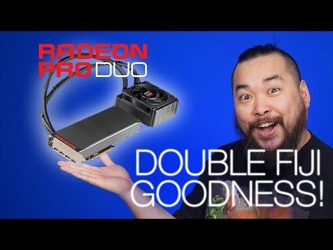 AMD's New Pro Duo GPU, NVIDIA Gameworks Update, 7nm from ARM & TSMC