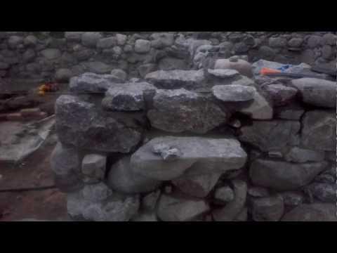 Каменный фундамент- Цокольный этаж. Часть 2