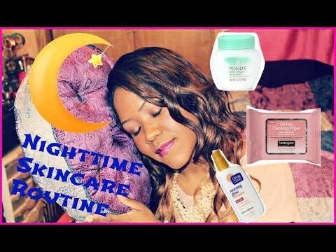♡ My Nightime Skincare Routine | 2014 ♡ {Tips For Removing Makeup, Acne Prone & Oily Skin Products}