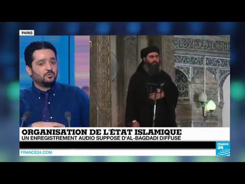 Abu Bakr Al-Baghdadi, le chef de l'Etat Islamique, réapparaît dans un enregistrement audio - IRAK