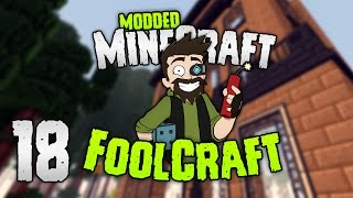 Minecraft: FOOLCRAFT | #18: OLD NEW YORK?! [Modded Minecraft]