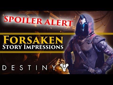 Destiny 2 Forsaken - 1st Story Mission Impressions (SPOILER ALERT) thumbnail