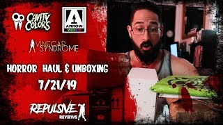Horror Haul and Unboxing: 7/21/19   Vinegar Syndrome, Code Red, and more!